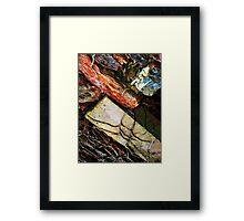 Bricks & Vine Framed Print