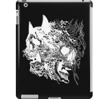 batman vs superman inverted skulls iPad Case/Skin