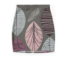 Nature Leaves by Seasons Mini Skirt