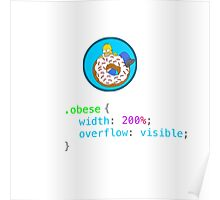 Obese CSS Poster