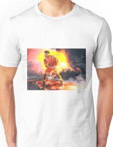 Jimmy Butler On Fire Unisex T-Shirt