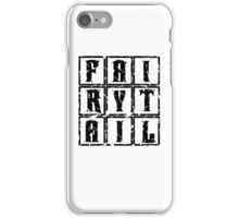 Fairy Tail in the Box iPhone Case/Skin