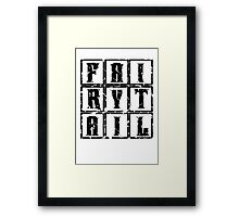 Fairy Tail in the Box Framed Print