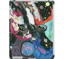 the creation of space cats. iPad Case/Skin