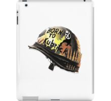 FULL METAL JACKET BORN TO KUBRICK iPad Case/Skin