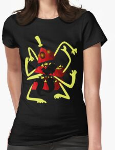 Nightmare Bill Cipher Womens Fitted T-Shirt