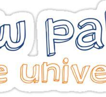 New Paltz State University - HOLLOW Sticker