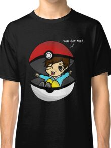 You Got You! Pokemon Trainer Boy (In Black Background) Classic T-Shirt