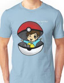 You Got You! Pokemon Trainer Boy (In Black Background) Unisex T-Shirt