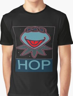 KERMIT MUPPETS MUTANT  HOP POSTER  Graphic T-Shirt