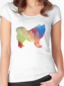 Samoyed  Women's Fitted Scoop T-Shirt