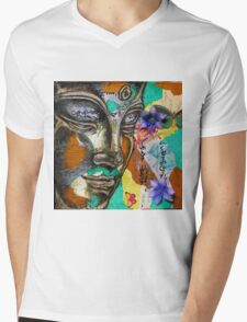 """Serenity"" Mens V-Neck T-Shirt"