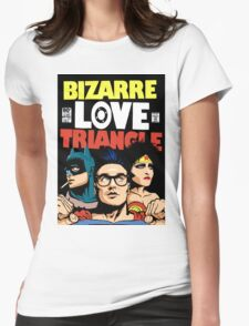 Butcher Billy's Bizarre Love Triangle: The Post-Punk Edition Womens Fitted T-Shirt