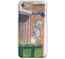 The bear of Buckley Place. iPhone Case/Skin