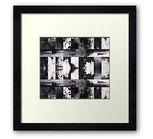 Film Scans Framed Print