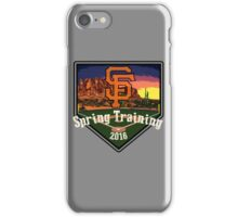 San Francisco Giants Spring Training 2016 iPhone Case/Skin