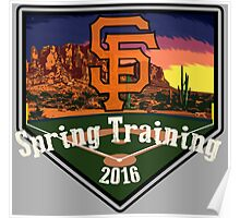 San Francisco Giants Spring Training 2016 Poster