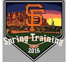 San Francisco Giants Spring Training 2016 Photographic Print