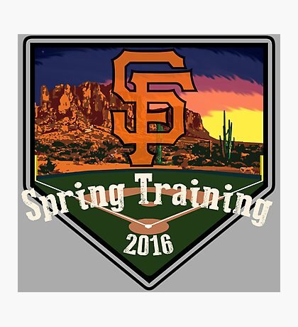 San Francisco Giants Spring Training 2016 Photographic Print