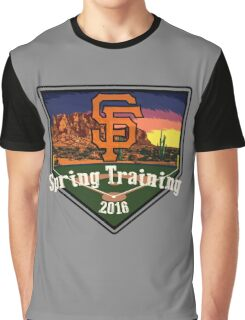 San Francisco Giants Spring Training 2016 Graphic T-Shirt