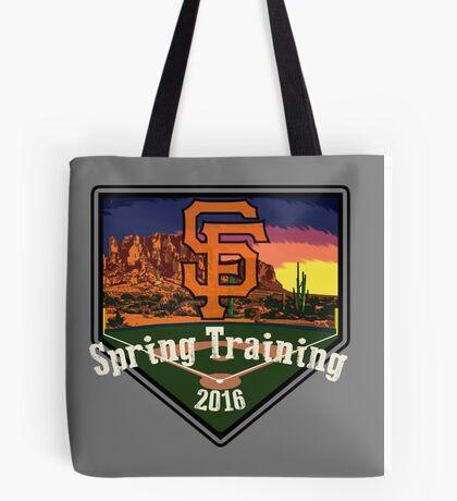 San Francisco Giants Spring Training 2016 Tote Bag