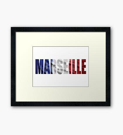 Marseille Framed Print