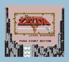The Legend of Zelda - Title Screen Kids Tee