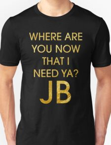 Where Are Ü Now - Justin Bieber T-Shirt