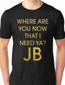 Where Are Ü Now - Justin Bieber Unisex T-Shirt