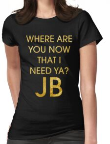 Where Are Ü Now - Justin Bieber Womens Fitted T-Shirt