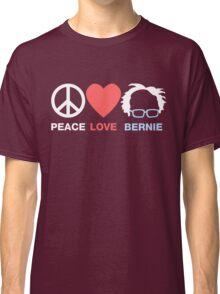 Peace Love Bernie Classic T-Shirt