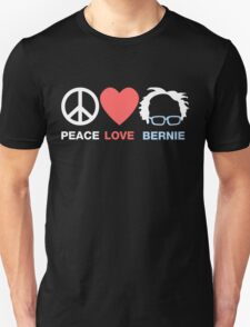 Peace Love Bernie T-Shirt
