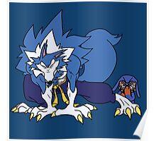 Whirlwind Werewolf Poster