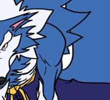 Whirlwind Werewolf Sticker