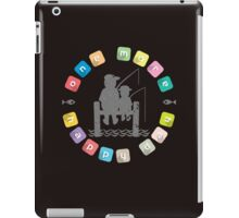 One More Happy Day, Gone Fishing iPad Case/Skin