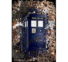 Police Box Tardis ~ Dr. Who Photographic Print