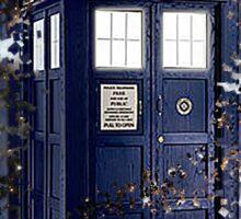 Police Box Tardis ~ Dr. Who Sticker