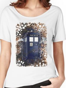 Police Box Tardis ~ Dr. Who Women's Relaxed Fit T-Shirt
