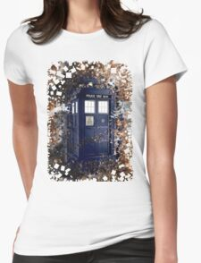 Police Box Tardis ~ Dr. Who Womens Fitted T-Shirt