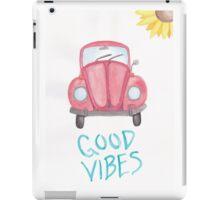 Good Vibes iPad Case/Skin