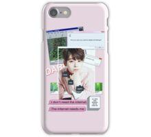 EUNWOO AESTHETIC PHONE CASE iPhone Case/Skin