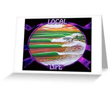 "Local Life 805 ""Point Break"" t-shirt Greeting Card"