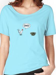 Chicken Caesar Salad Women's Relaxed Fit T-Shirt