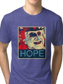 PENGUIN HOPE POSTER BATMAN  Tri-blend T-Shirt