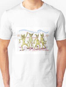 Zombie Cats Unisex T-Shirt