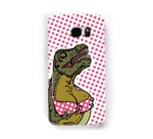 DINOSAURS WITH TITS - Galaxy POLKA DOTS Samsung Galaxy Case/Skin