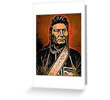 Chief Joseph (Hinmatóowyalahtq̓it) Greeting Card