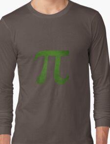 Green Pi Symbol Long Sleeve T-Shirt