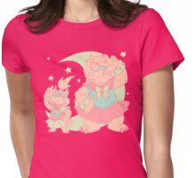 Super Kawaii Princess Bowserchan Womens Fitted T-Shirt