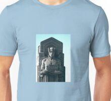 Guardian of the bridge. Cleveland, Ohio. Unisex T-Shirt